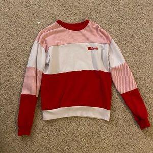 Forever 21 X Wilson collaboration sweatshirt